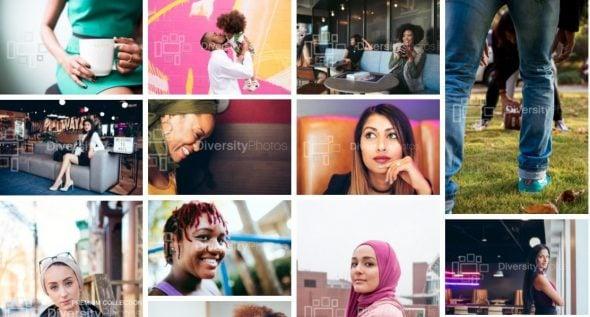 Diversiteit afbeeldingen