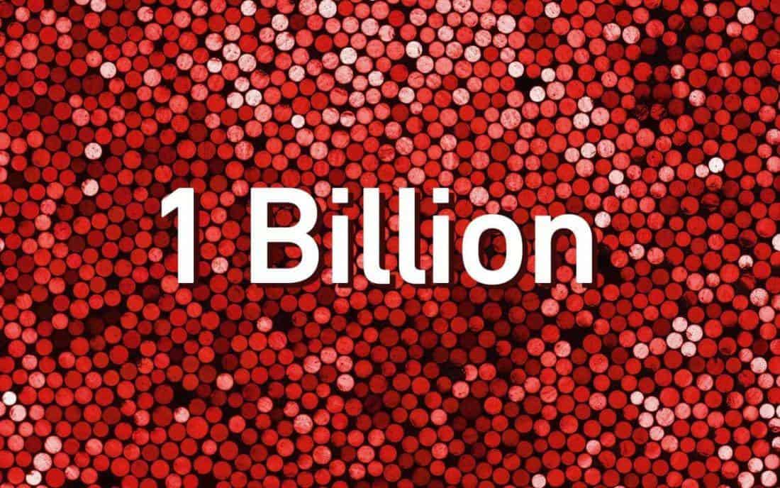Shutterstock Celebrates Over 1 Billion Licenses Sold!