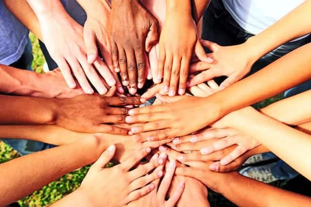Dreamstime Most Downloaded Hands Diverse People Together Circle