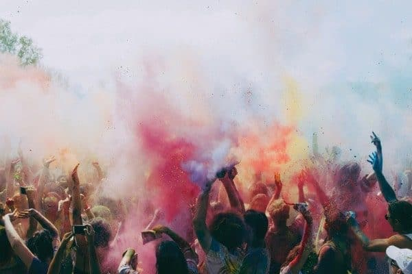 Colour Festival Smoke