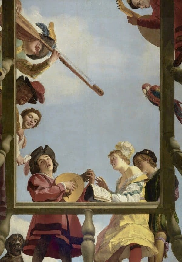 Dutch Oil Painting Musical Group