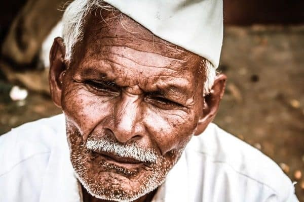 Portrait of Elder Indian Man