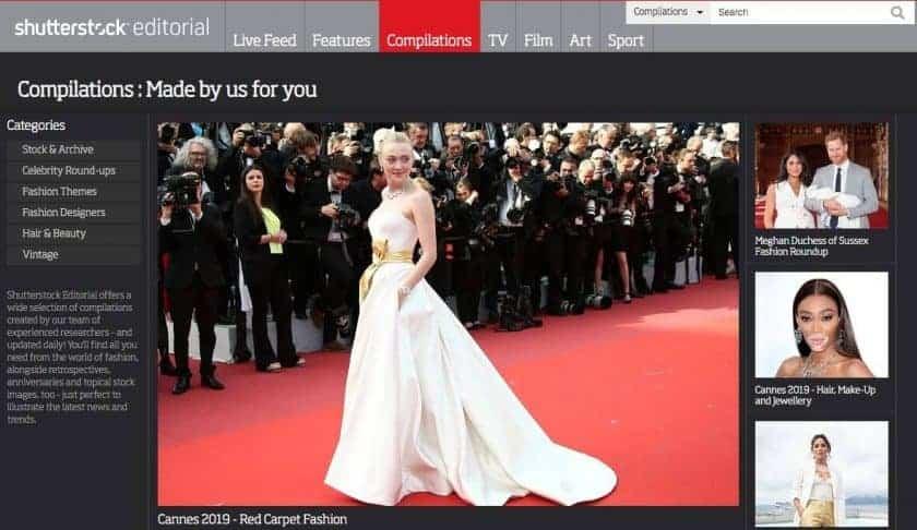 Shutterstock Redactioneel voor actuele redactionele afbeeldingen en beeldmateriaal