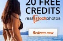 20 Credits for Free – if you join Real Stock Photos now!