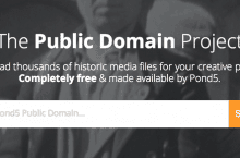 Pond5 launches Public Domain Project with 80,000 Free Media Assets