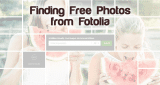 Where can i find free photos from Fotolia?