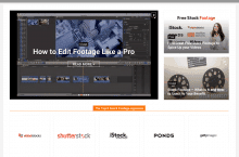 Footage Secrets – Our New Online Magazine for All Means Stock Footage
