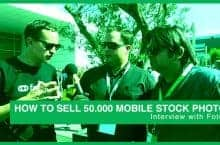How to sell 50.000 Mobile Stock Photos – Interview with Fotolia