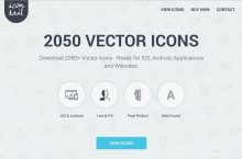 Icontail! – 2050+ Professionally Made Icons in One Icon Pack – 50% OFF NOW!