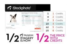 iStockphoto price cut – 50% off half of its stock images