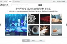 Shutterstock introduces Music collection