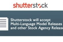Shutterstock will accept Multi-Language Model Releases
