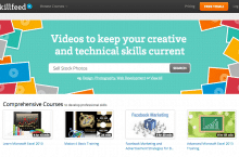 Enhance your digital skills at Shutterstock's new Skillfeed